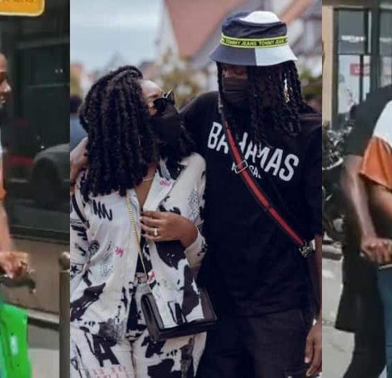 , Stonebwoy and wife Louisa give couple goals as they ride on scooter in France, video drops, Frederick Nuetei