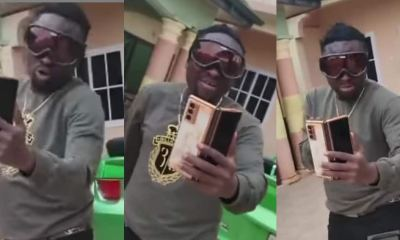 , Gospel singer Brother Sammy switches style to drop rap bars on Yaw Tog's 'Sore' (video), Frederick Nuetei