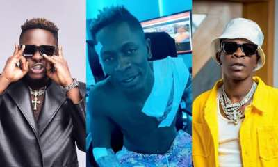 , Shatta Wale shows love to Medikal as he tattooes rapper's name on his body (video), Frederick Nuetei