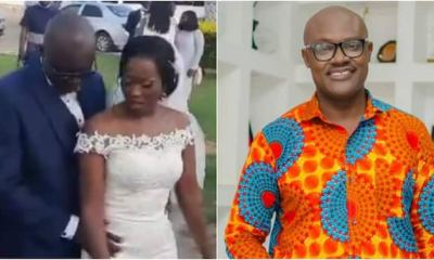 , Bright Nana Amfoh: TV3 presenter marries fiancée; first video pops up, Frederick Nuetei