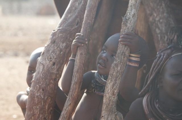 Op bezoek bij de Himba's in Namibië