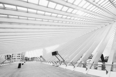 Liege Guillemins architectuur fotografie