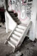 Papierfabriek De Naeyer witte trap