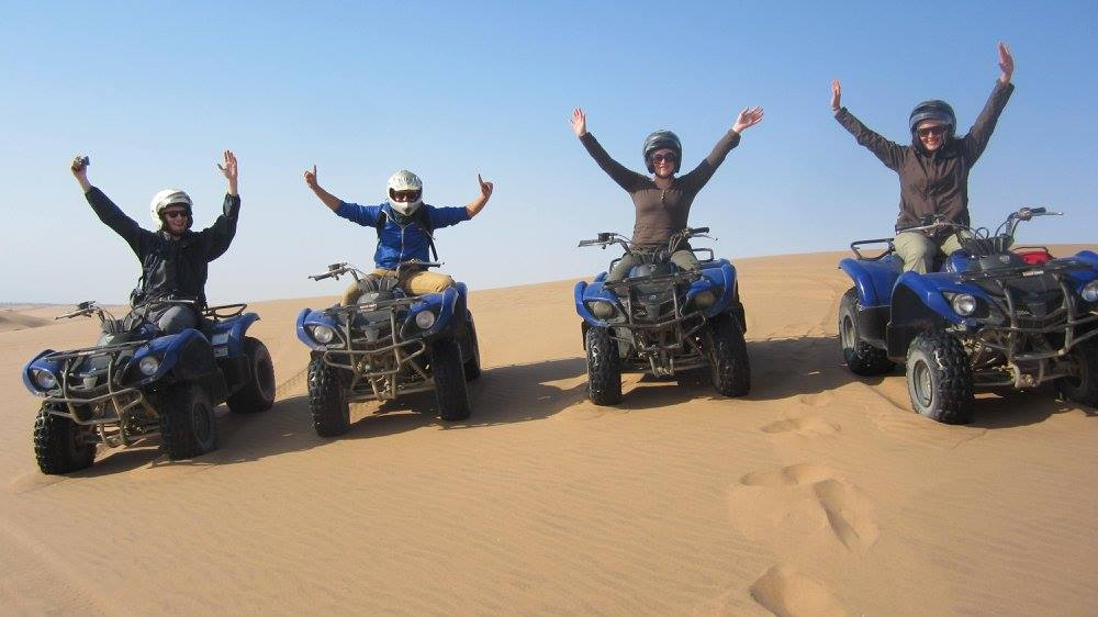 quad riding in swakopmund