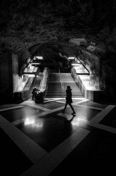 Kunstradgarden subwaystation - Stockholm, Sweden