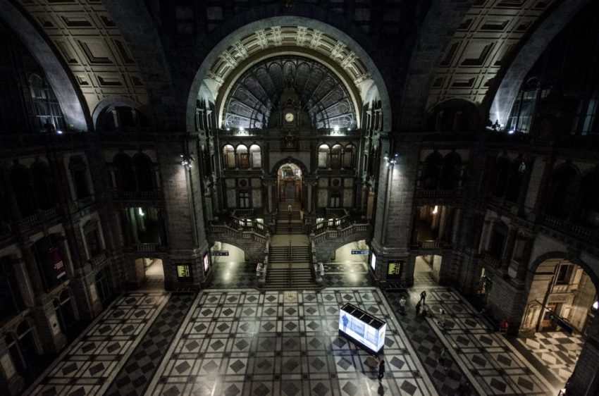 Main hall - Antwerp Central Station
