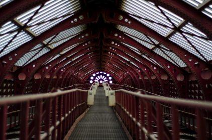 Walkway - Antwerp Central Station