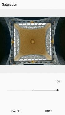 15. Saturation on Instagram +100