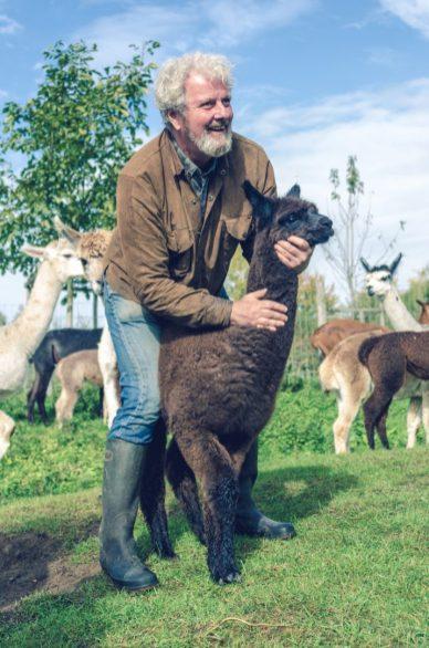 4. Alpaca farmer