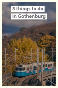what to do in gothenburg pin