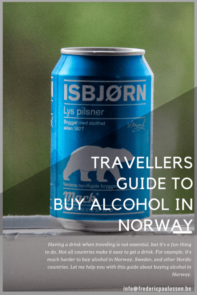 Travellers guide to buy alcohol in Norway (How and where to