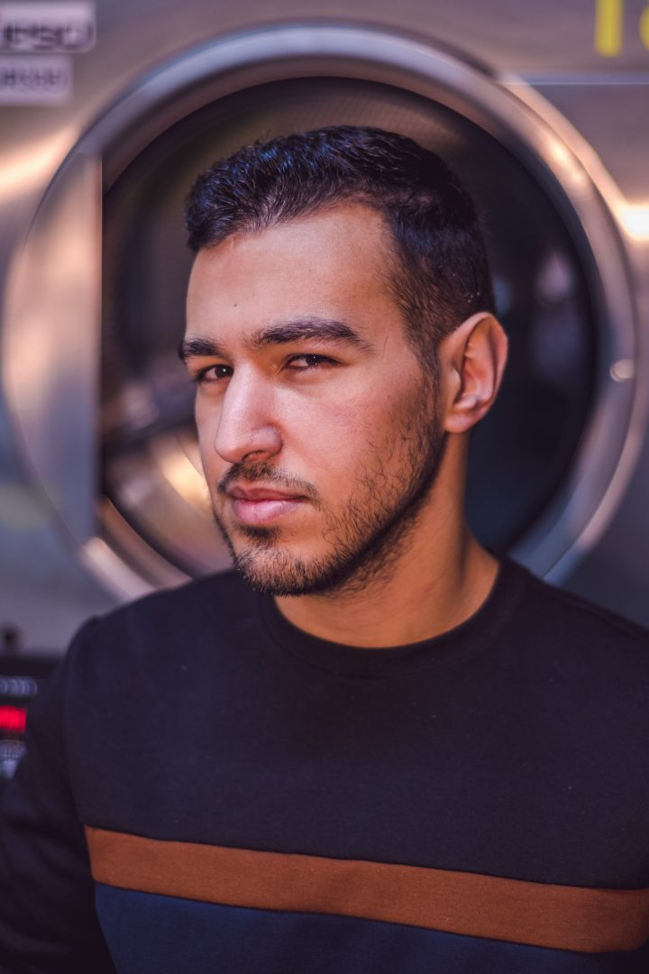 Portrait of Hamza with a Nikon D850 and SB-700 Speedlight