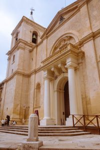 Exterior St John co-Cathedral Malta