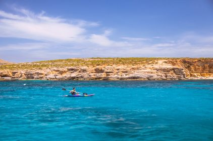 kayaking on malta