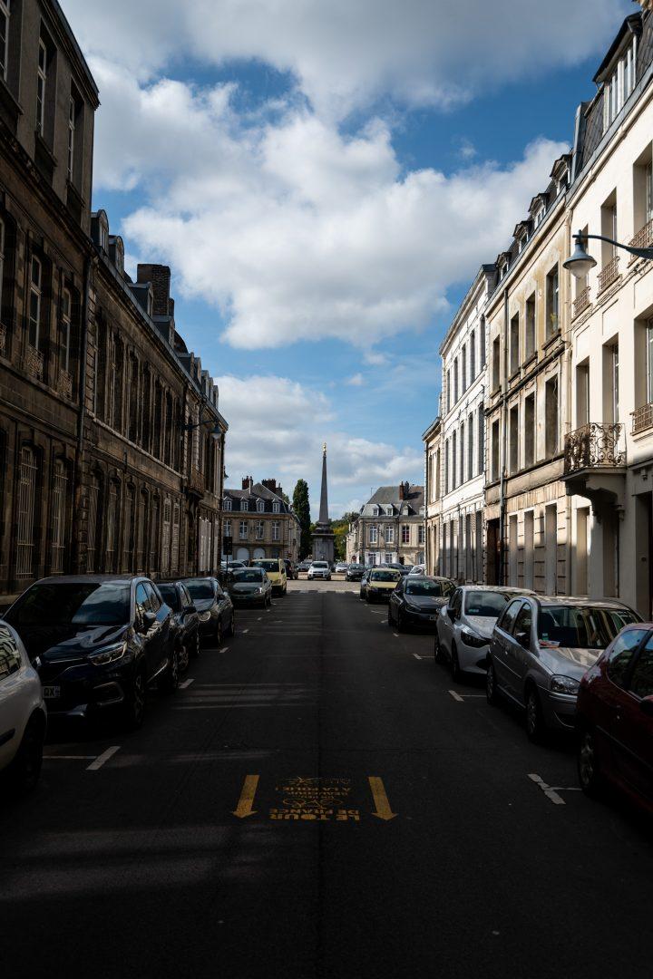 Place victor hugo in Arras