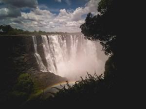 Victorial Falls in Zimbabwe