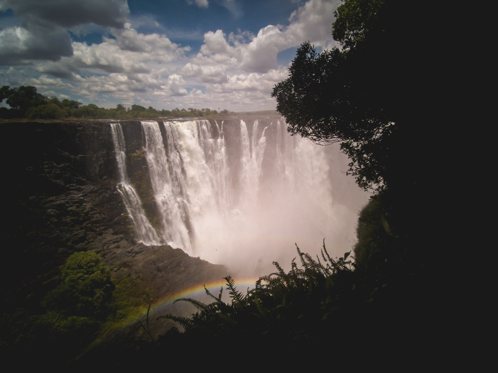 Victorial Falls in Zimbabwe