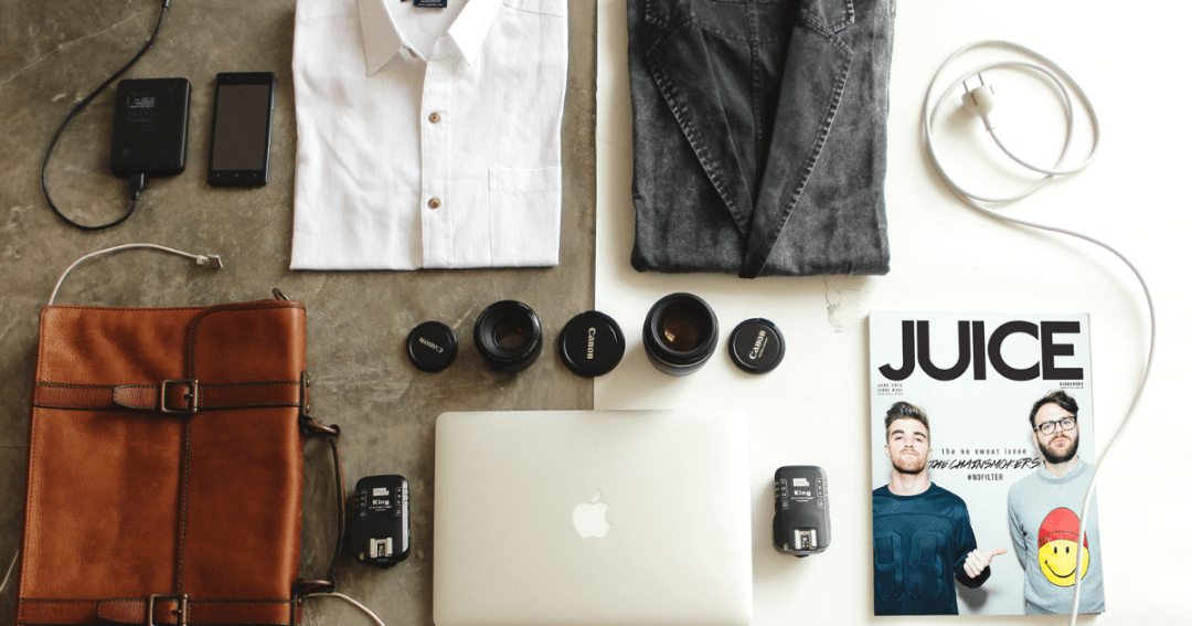 Men's travel packing list for a 4-day city trip - A handy printable checklist