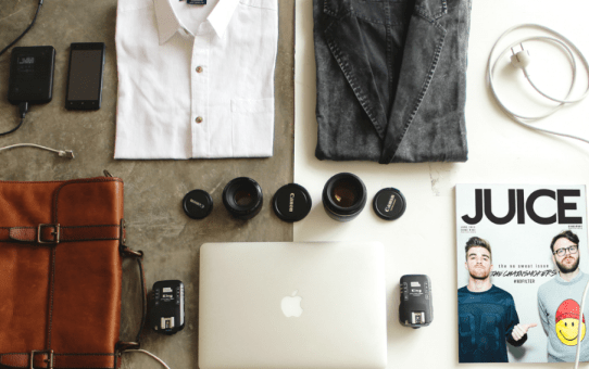 Men's travel packing list for a 4-day city trip – A handy printable checklist