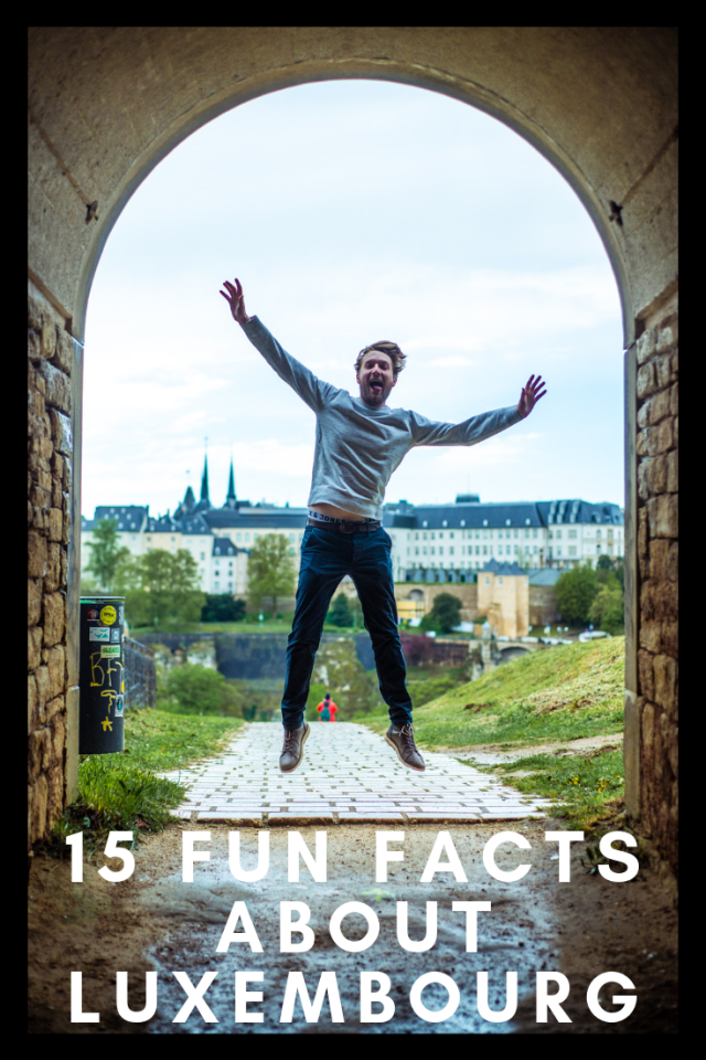 Fun facts Luxembourg pinterest