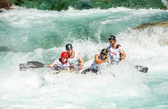 White water rafting by Rune Haugseng on Unsplash