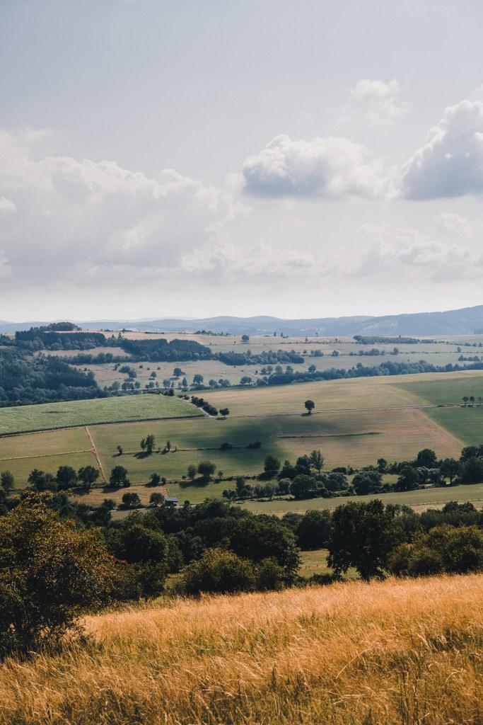 Landscape in sauerland