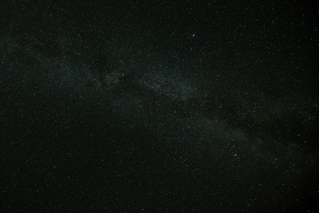 the milky way as seen from South Tirol