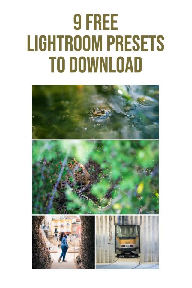 9 free lightroom presets to download pinterest 11