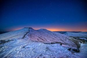 Brecon Beacons at night