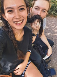 Selfie in liege
