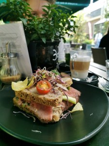 hortus cafe lunch