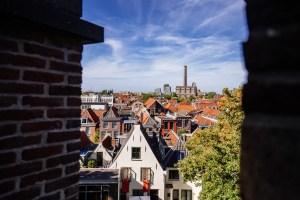 view over Leiden