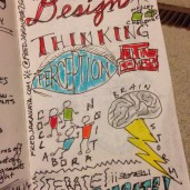 Design Thinking from Stanford's d.School led by Ellen Deutscher at our school