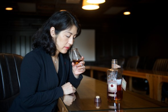 Four Roses Distillery's CEO and President, Satoko Yoshida
