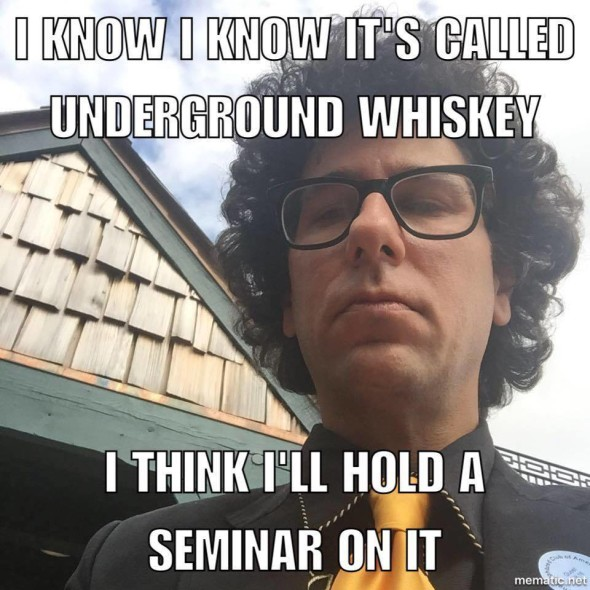 """Matthew Landen owns the popular bar Haymarket. He believes he's being unfairly blamed for private bourbon groups being shutdown on Facebook. The sites started shutting down after his bartender seminar """"Underground Whiskey"""" Monday."""