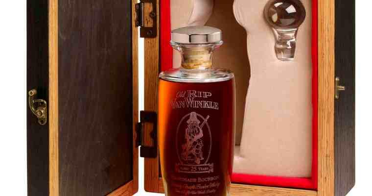 Who wants 25-year-old Van Winkle Bourbon?