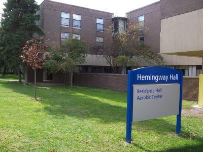 SUNY fredonia hemingway hall