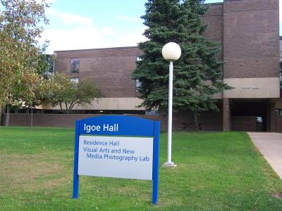 SUNY fredonia igoe hall