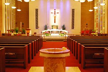 church sanctuary lighting led