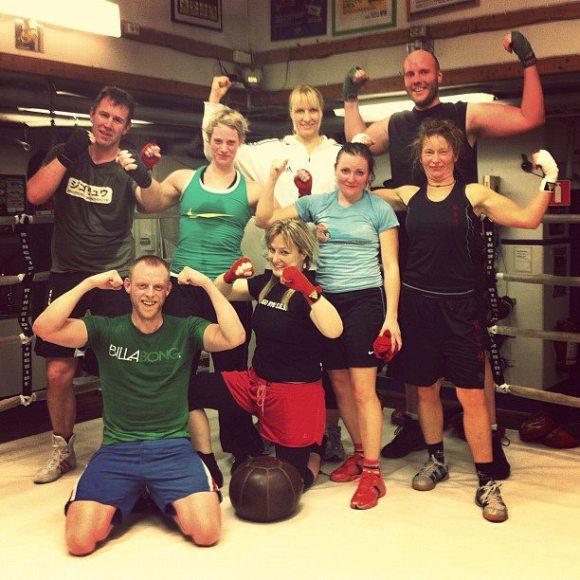 Boxning träning