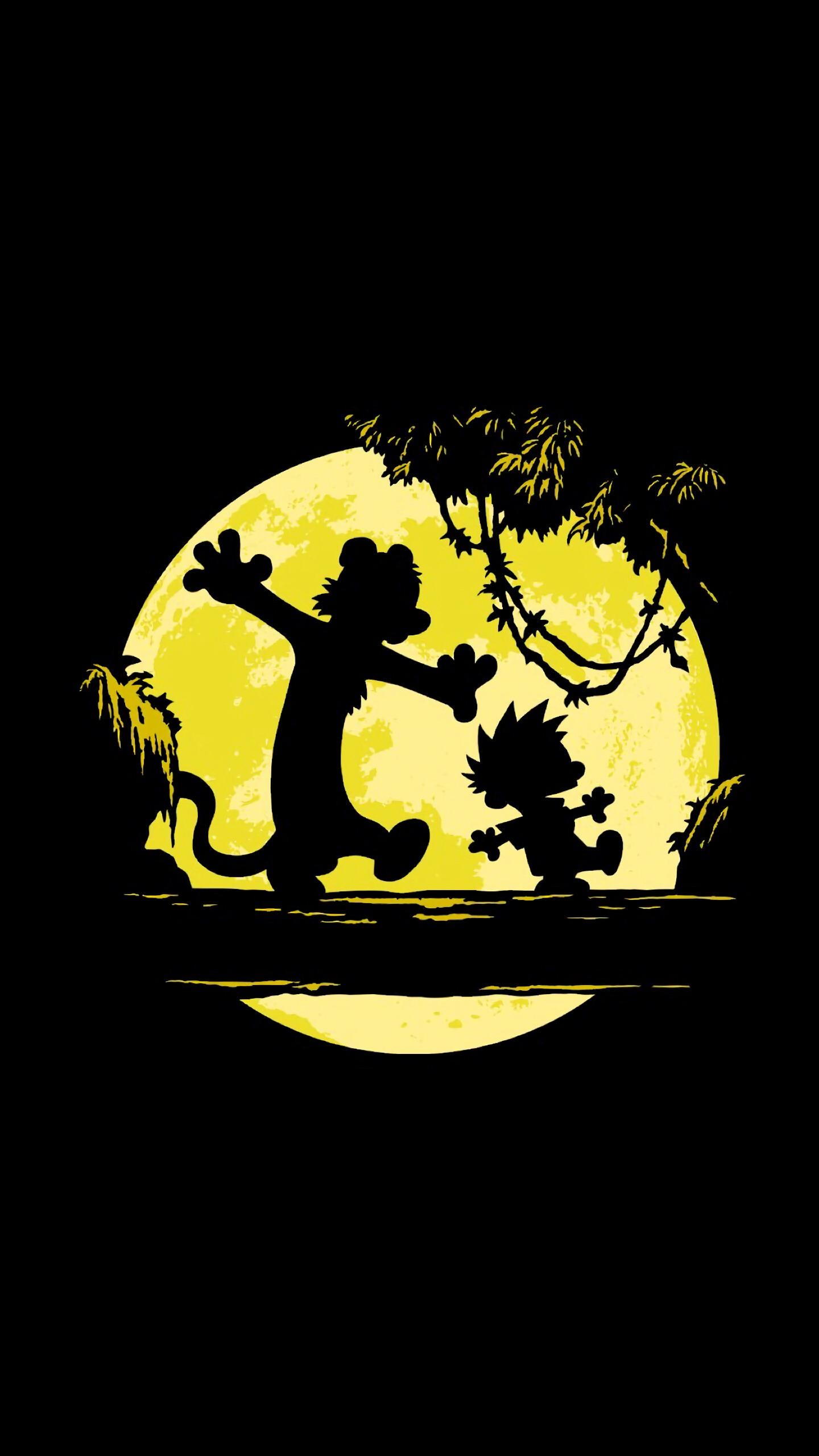 Calvin and Hobbes Wallpaper for iPhone and Android - Fred ...
