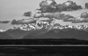 Mt. in Black and White
