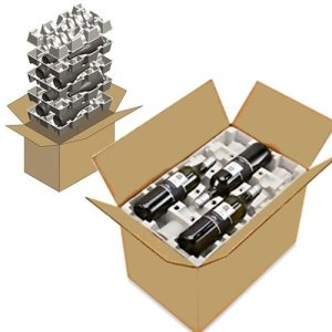 cardboard wine shipper