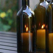 13 Ways to Re-Use Empty Wine Bottles