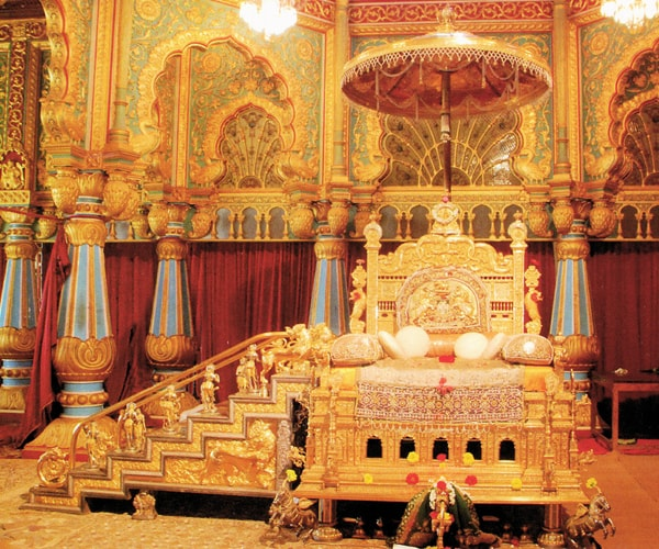 Golden Throne at Mysore Palace