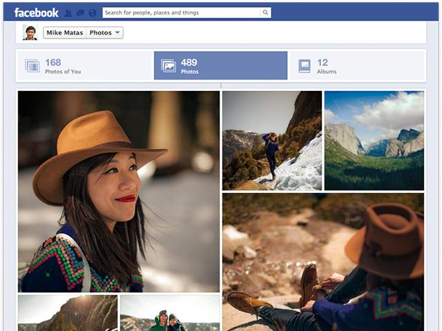 Facebook : bientôt un nouveau look pour les photos !
