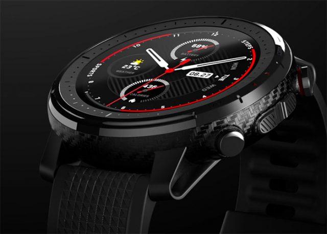 L'Amazfit Stratos 3, une montre au look soigné