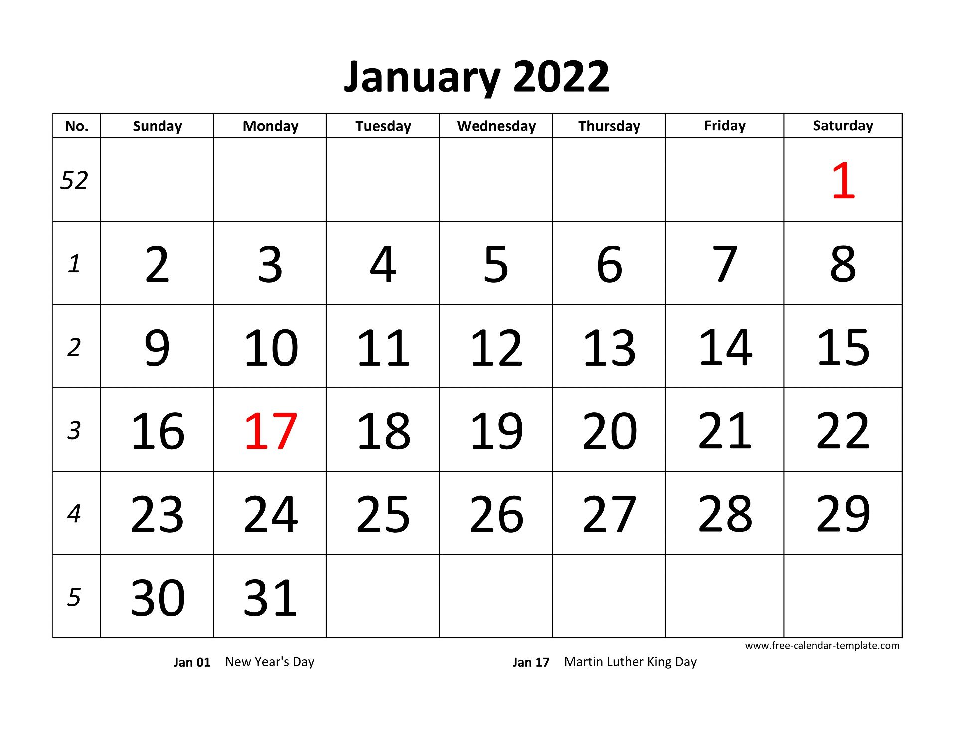 It is an opportunity to start over and an invitation to reset and forge a new beginning. Printable Monthly Calendar 2022   Free-calendar-template.com
