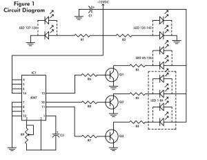 The flashing Heart :: circuit diagrams