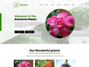 If you're a florist or wedding planner, this is the website template for you. Free Flowers Website Templates 151 Free Css